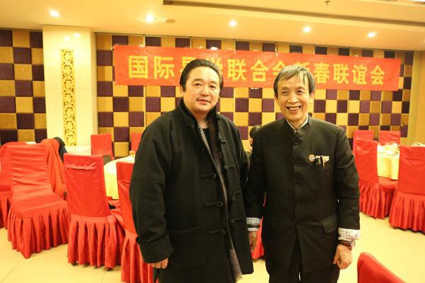 杨霁晖院长与廖墨香老师